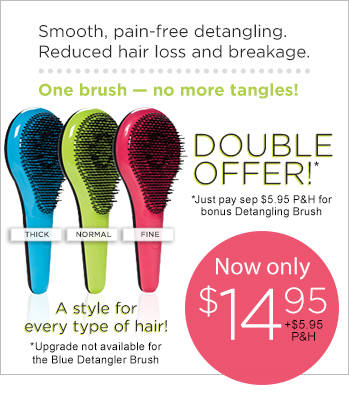 Order Michel Mercier's Ultimate Detangling Brush Now!