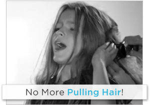 No More Pulling Hair!